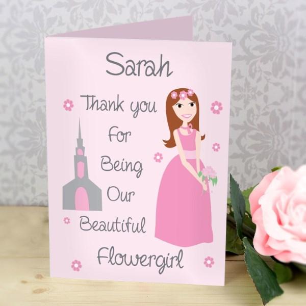 Fabulous Bridesmaid Card