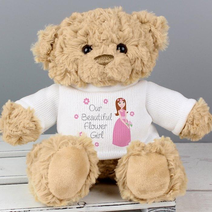 Fabulous Flower Girl Teddy 2