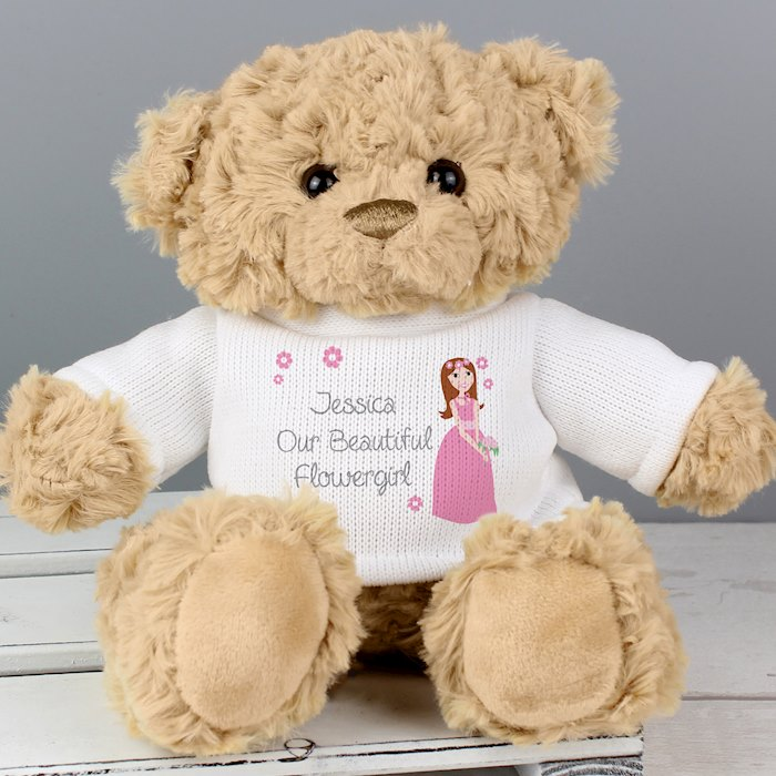 Fabulous Flower Girl Teddy
