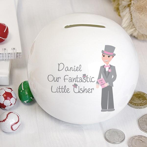 Fabulous Little Usher Money Box