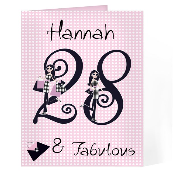 Fabulous Numbers Card