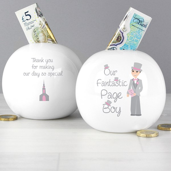 Fabulous Page Boy Money Box