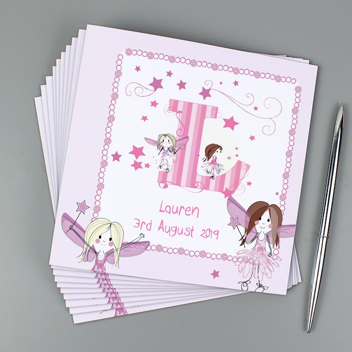 Fairy Letter Pack of 20 Invitations