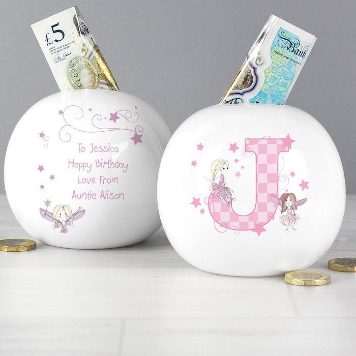 Fairy Letter Money Box