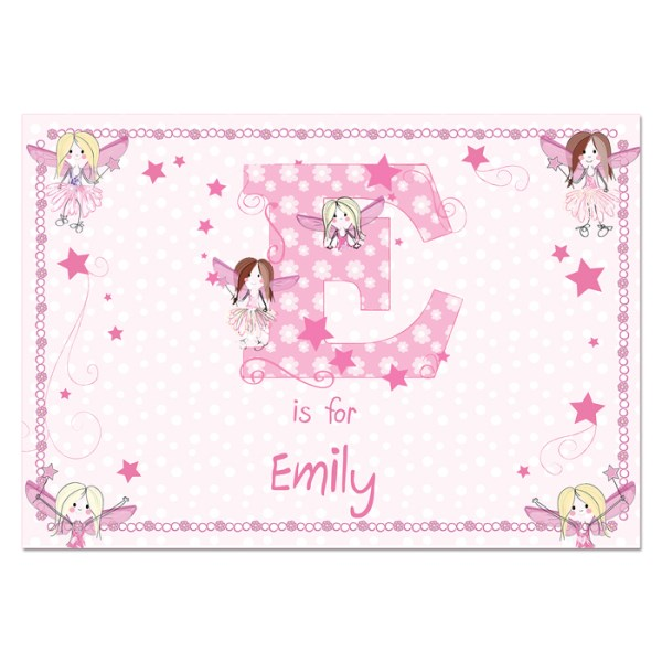 Fairy Laminated Print Placemat