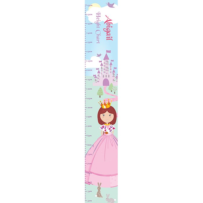 Fairy Tale Princess Height Chart