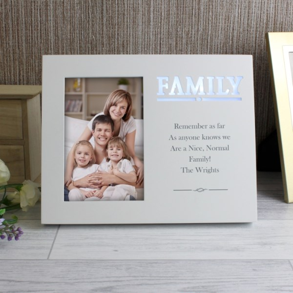 Family Any Message 4x6 Light Up Frame