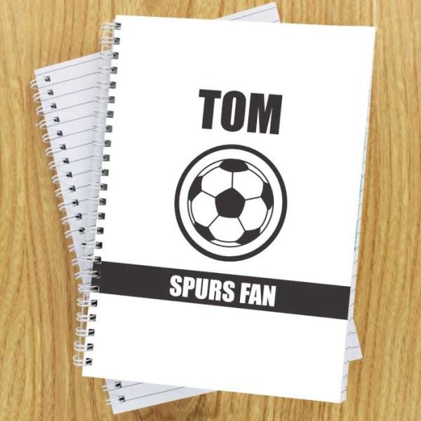 Football Fan A5 Notebook