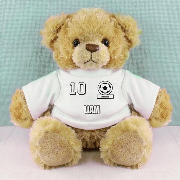 Football Fan T-Shirt Message Bear