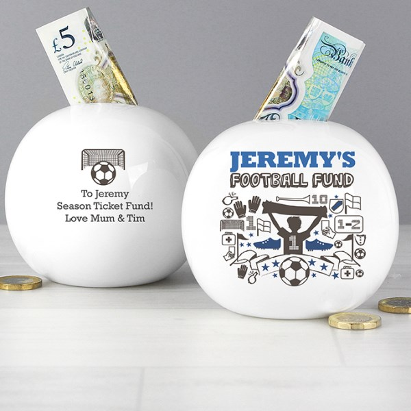 Football Fund Money Box