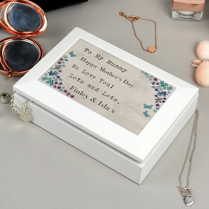 Forget me not Jewellery Box