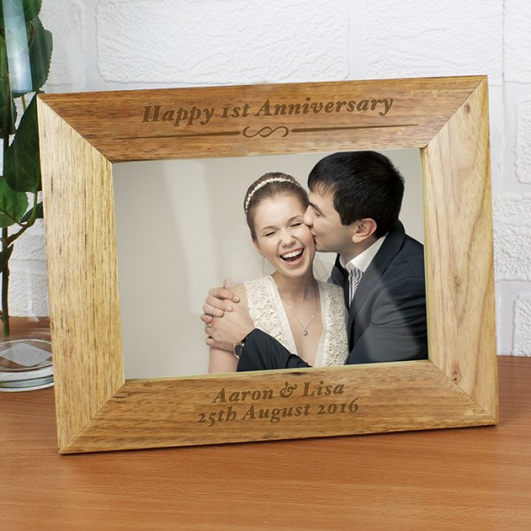 Formal 7x5 Wooden Photo Frame
