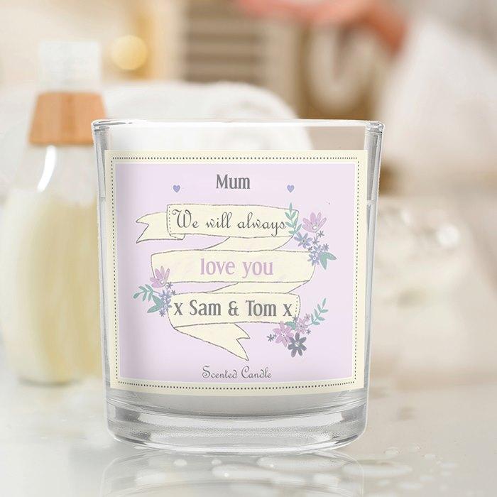 Garden Bloom Scented Jar Candle