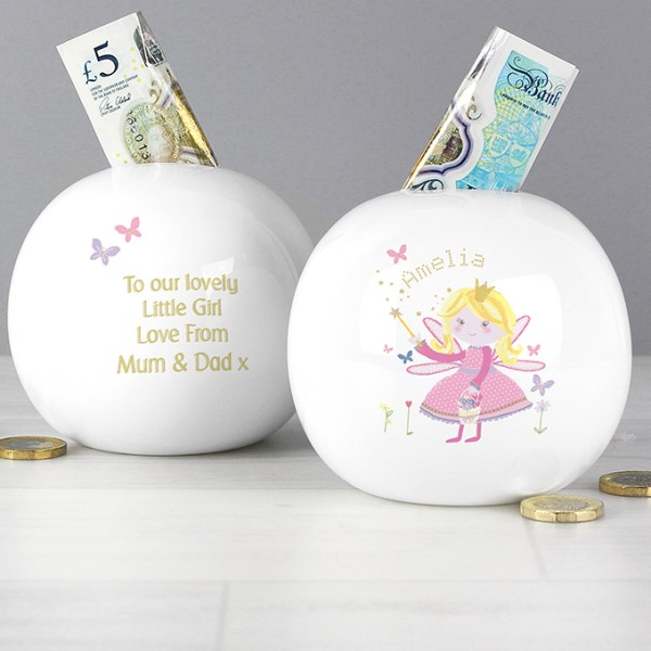 Garden Fairy Money Box