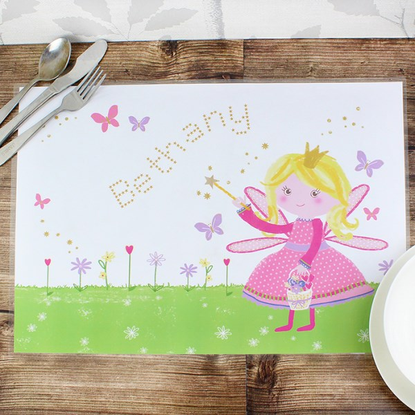 Garden Fairy Laminated Print Placemat