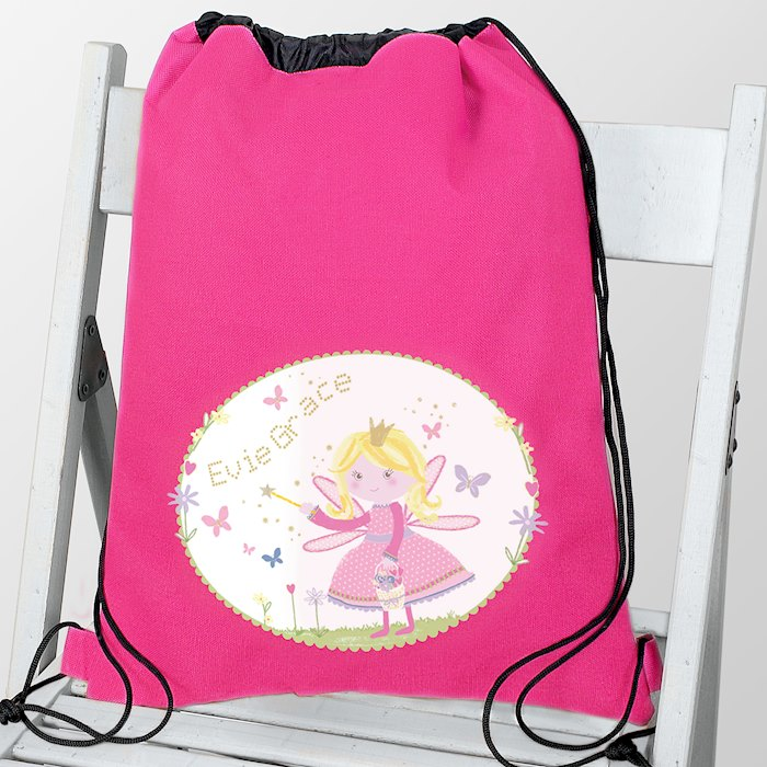 Garden Fairy Swim & School Bag