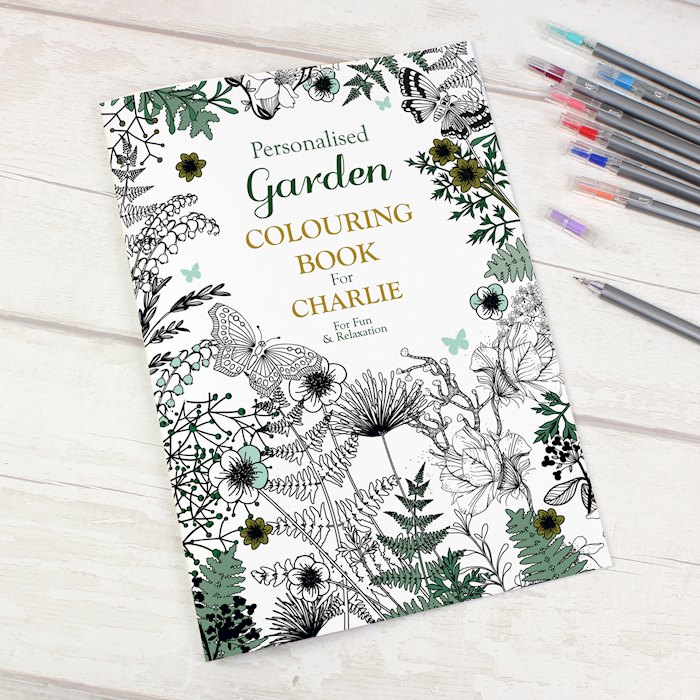 Gardening Colouring Book