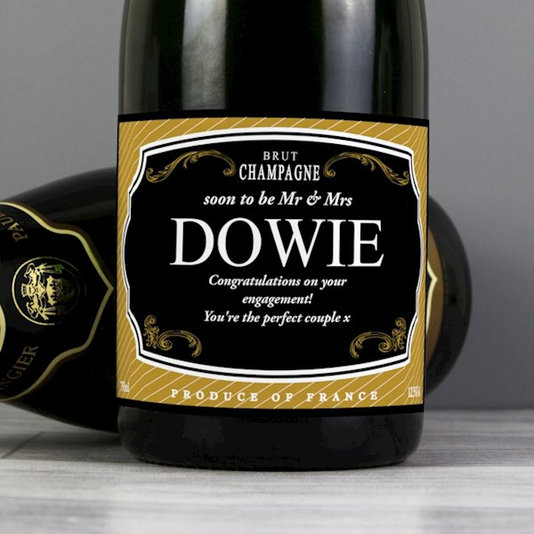 Gold & Black Champagne