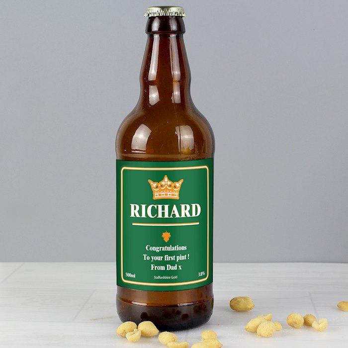 Gold Crown Beer
