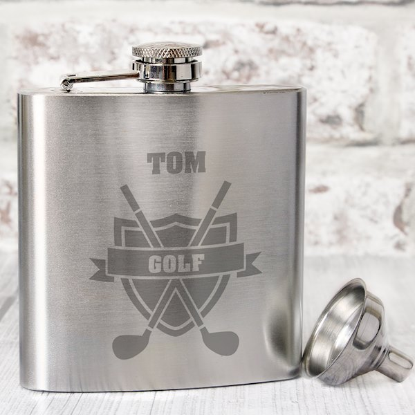 Golf Hip Flask
