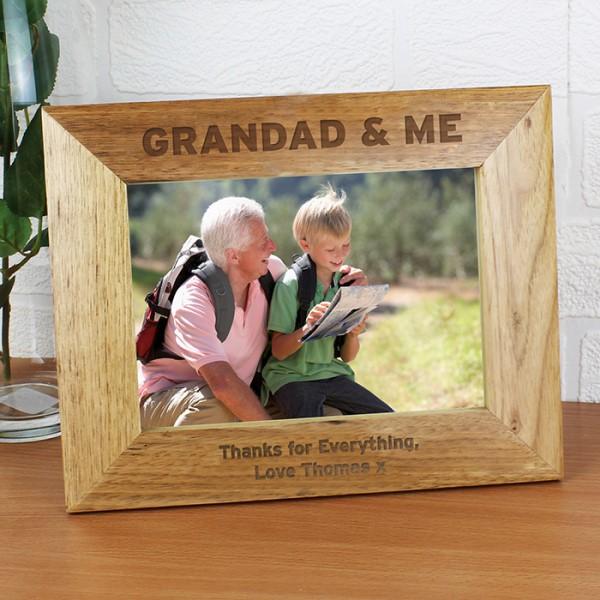 Grandad & Me 7x5 Photo Frame