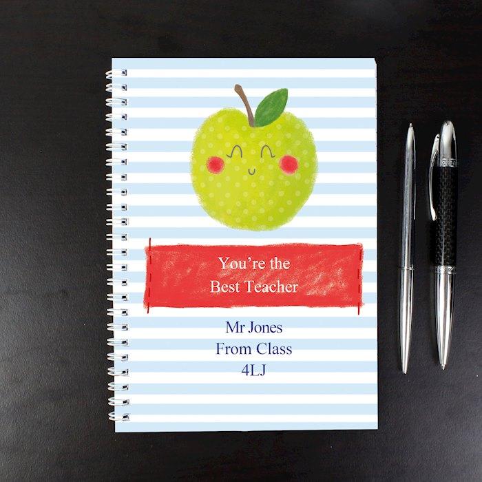 Apple for the Teacher A5 Notebook