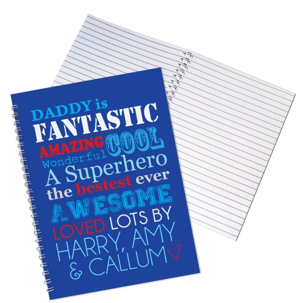 He Is....A5 Notebook