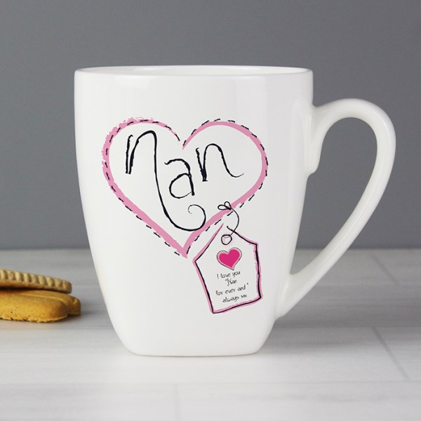 Heart Stitch Nan Small Latte