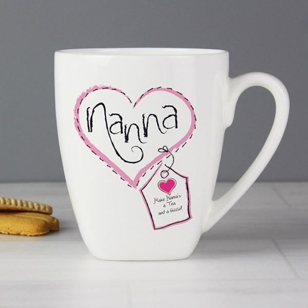 Heart Stitch Nanna Latte Mug