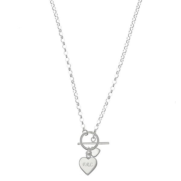 21c02b65a4d Hearts T-Bar Necklace | SpecialMoment.co.uk