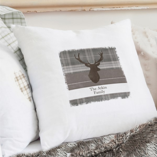 Highland Stag Cushion Cover