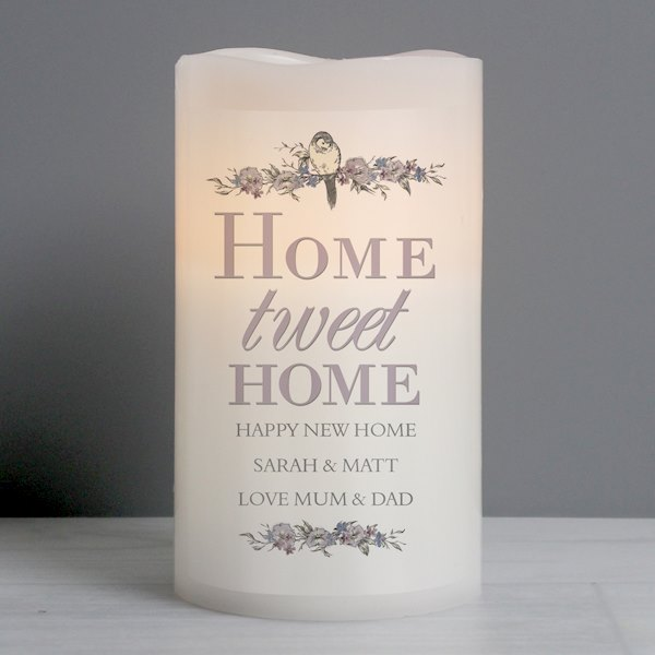 Home tweet Home LED Candle