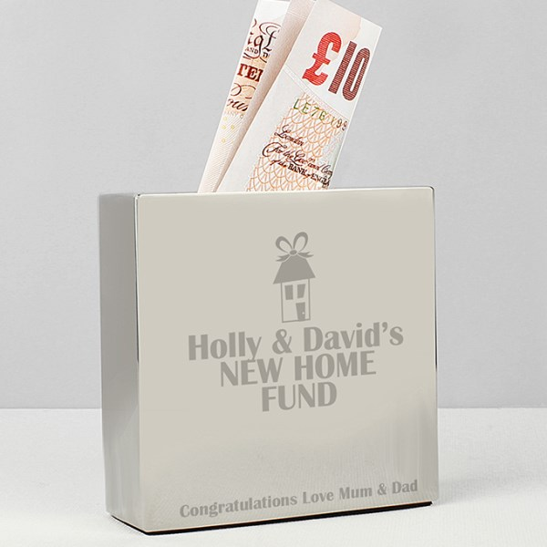 House Square Money Box