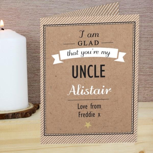 I Am Glad... Card
