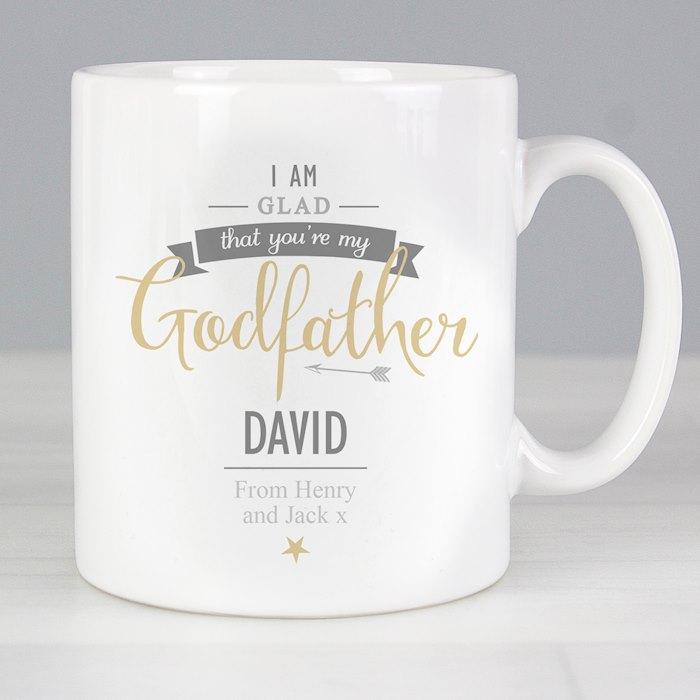 I Am Glad... Godfather Mug
