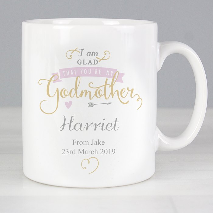 I Am Glad... Godmother Mug