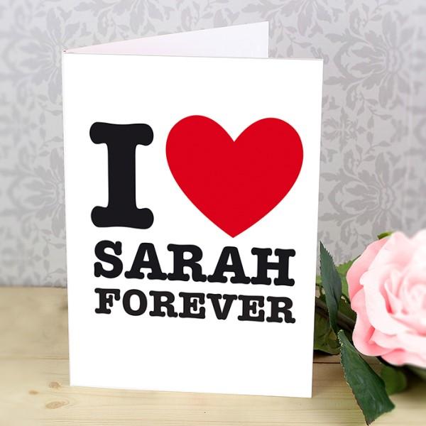 I HEART Card