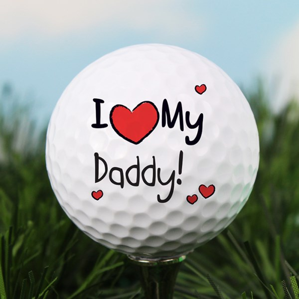 I Heart My Golf Ball