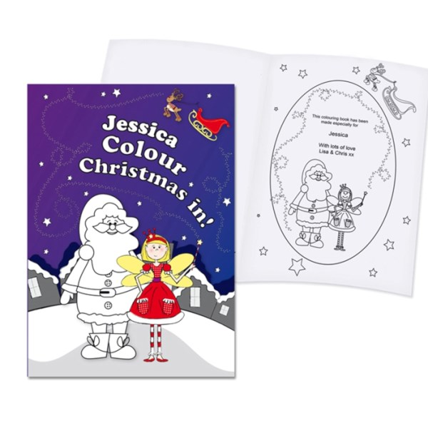 'It's Christmas' Fairy Colouring Book