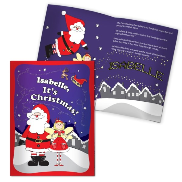 'It's Christmas' Fairy Story Book