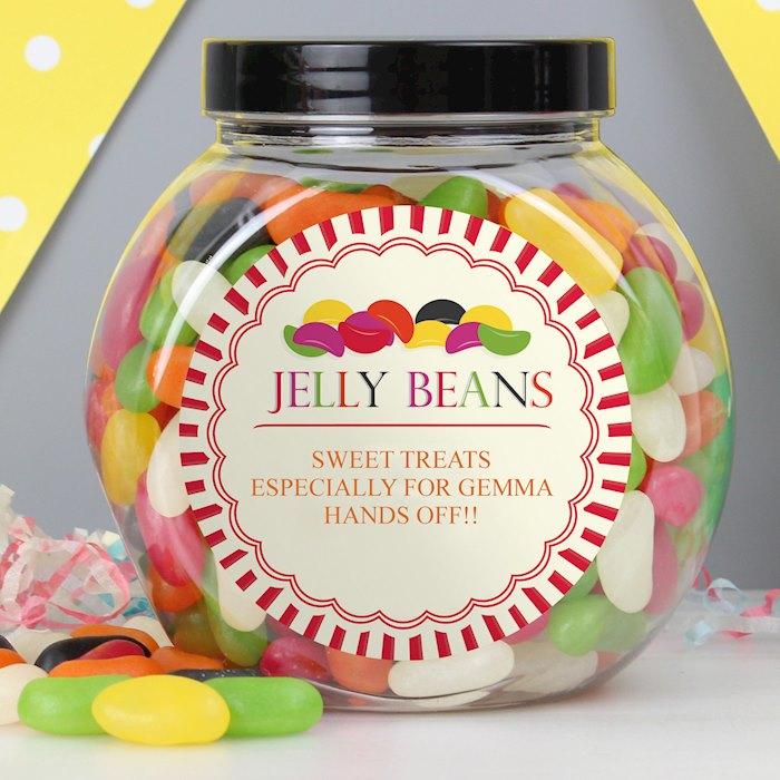 Jelly Beans Sweet Jar