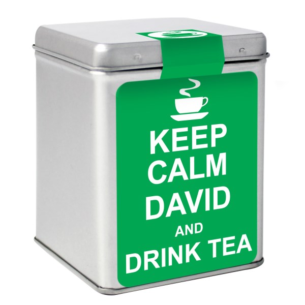 Keep Calm Tea & Tin