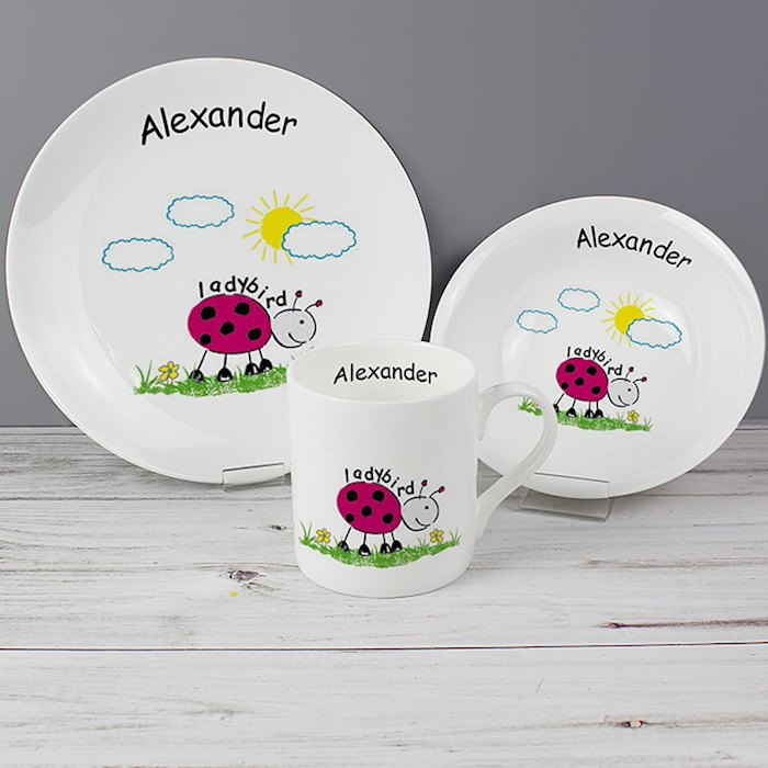 Ladybird Breakfast Set
