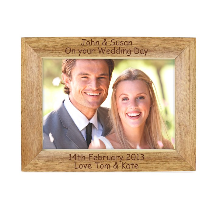 Landscape Wooden Photo Frame 7x5