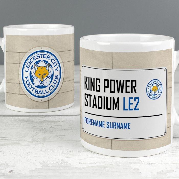Leicester City FC Street Sign Mug