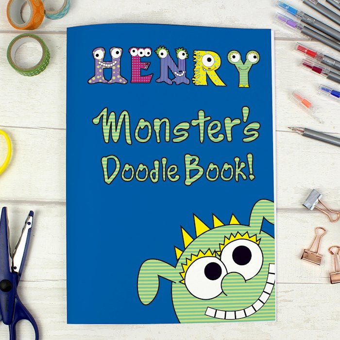 Little Monster - A4 Scrapbook