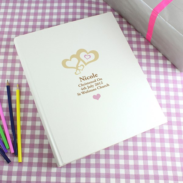 Love Hearts Pink Traditional Album
