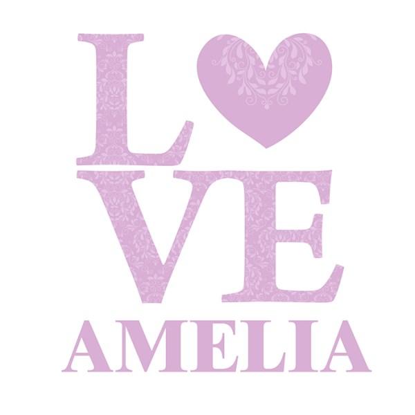 LOVE Lilac Wall Art
