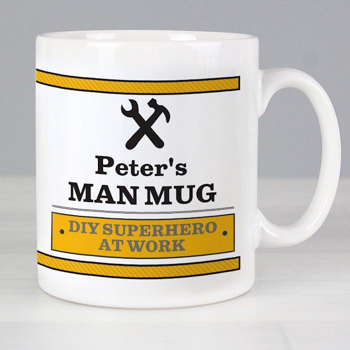 Man At Work Mug