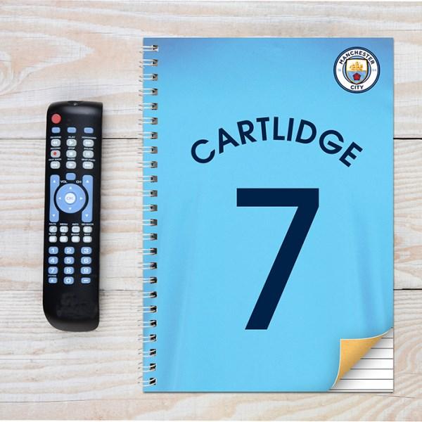 Manchester City A4 Notebook